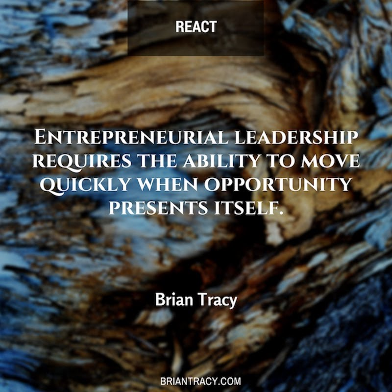 Leadership Quotes Entrepreneurial Leadership Requires